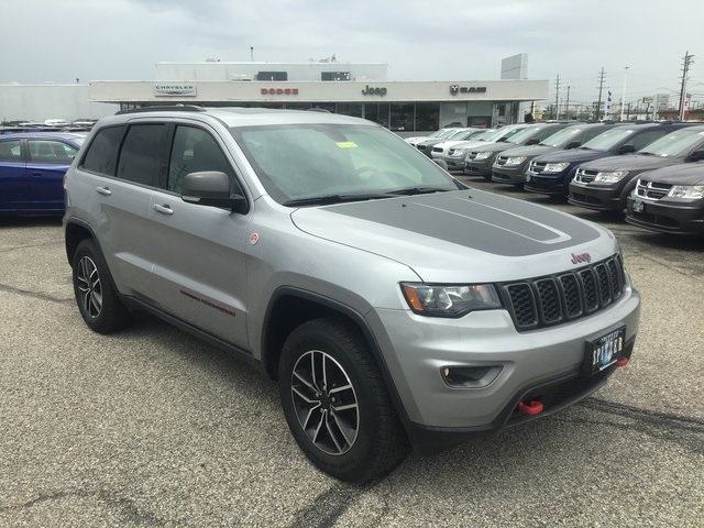 Certified Pre-Owned 2020 Jeep Grand Cherokee Trailhawk