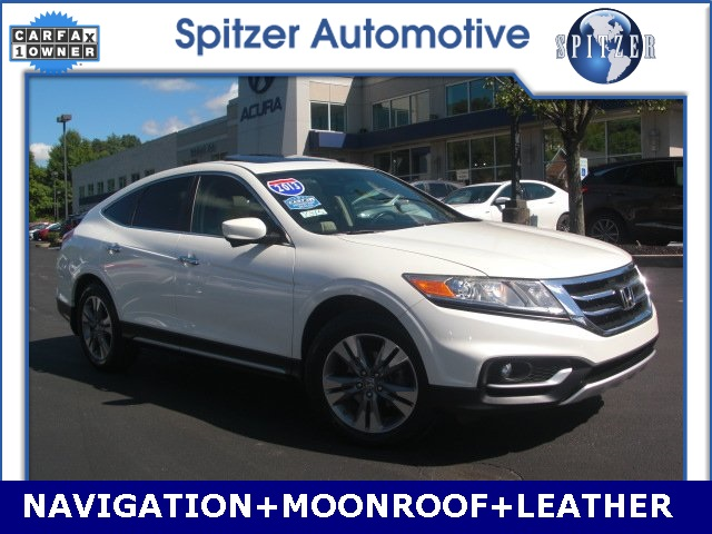 Pre Owned 2013 Honda Crosstour Ex L 4d Sport Utility In Cleveland